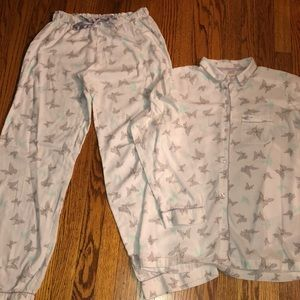 Victoria's Secret flannel jammies
